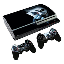 جوكر جلد فينيل ل PS3 الدهون وحدة التحكم ملصق غطاء ل بلاي ستيشن 3 الدهون تحكم تحكم غمبد ماندو ملصق مائي