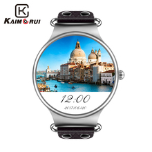 Kaimorui Smart Watch Android 512MB+8GB Smartwatch Men SIM Card GPS WiFi Bluetooth Watch Smart Watch For Android IOS Watch Phone blitz smart watch phone support android 5 1 mtk6580 512 4g sim card wifi bluetooth gps smartwatch for android