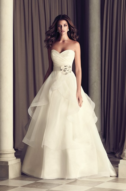 a5006f66f84 Model Image Ruched Corset Lace Up Simple Wedding Dress Flower Belt Best  Prices Off White Gelinlik Plus Size Online Shop China