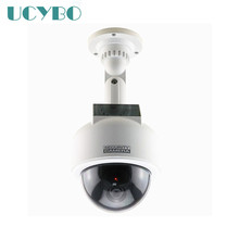 fake dummy security camera solar powered cctv surveillance speed dome ptz fake camera Blinking RED LED