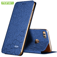 New For Huawei honor 7x case cover silicone luxury flip leather original mofi honor 7x case for huawei honor 7x case 360 protect