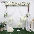 JAROWN теплый белый свадебный реквизит имитация розы гортензии цветок набор «сделай сам» искусственное растение украшение для свадьбы дома в...