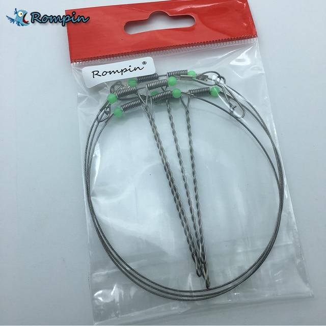 Rompin 2pcs/lot Swivel String Fishing Hook Anti Winding Practical ...