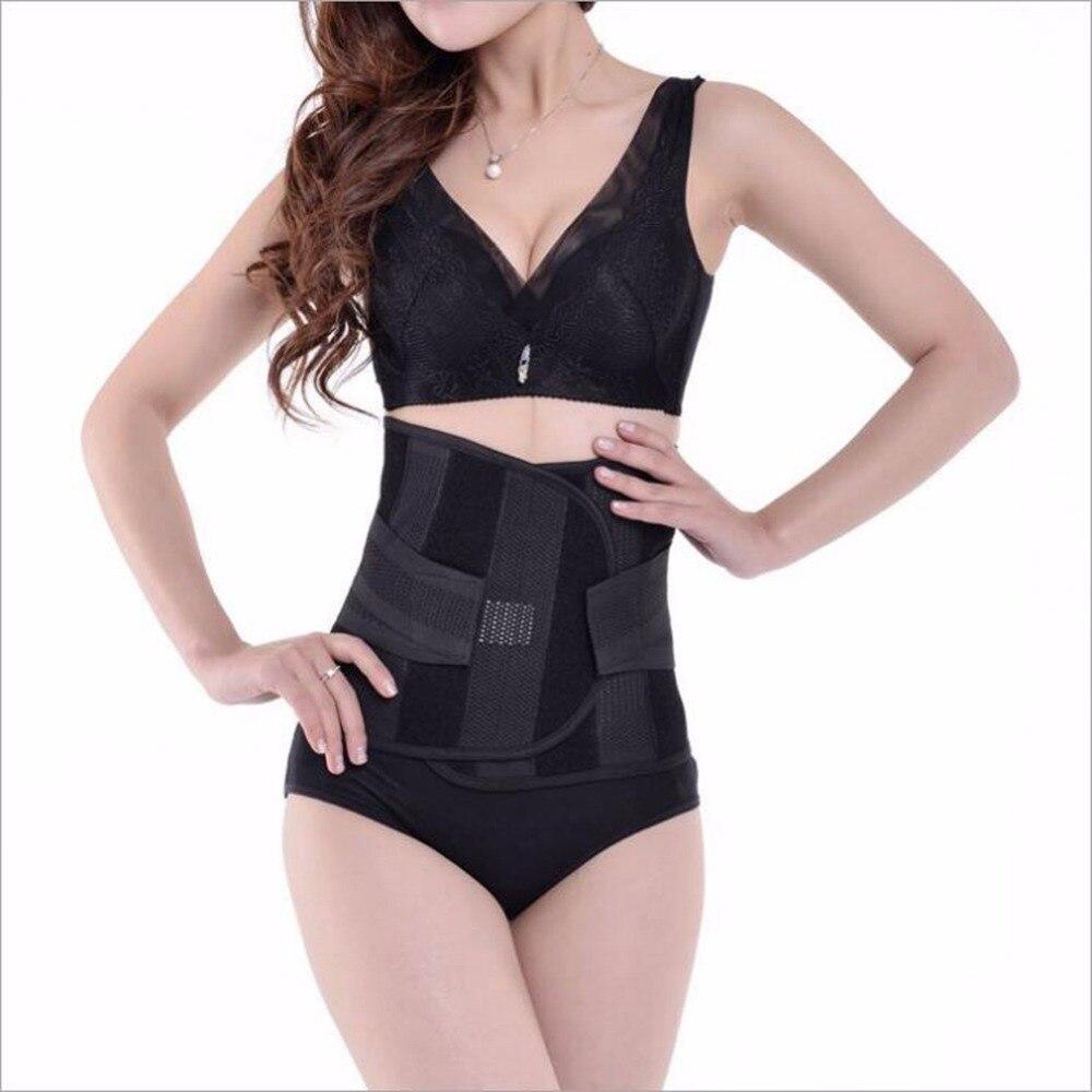 ALL FIT IN Orhopedic Back Belt Men Posture Correction Belt Elastic Bandage Lower Back Pain Belts Braces Supports Large Size
