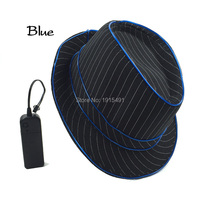 10 Colors Available Colorful Noble Hipster Favors Led Bulb Stripe Black Cap Neon EL Wire Cosplay