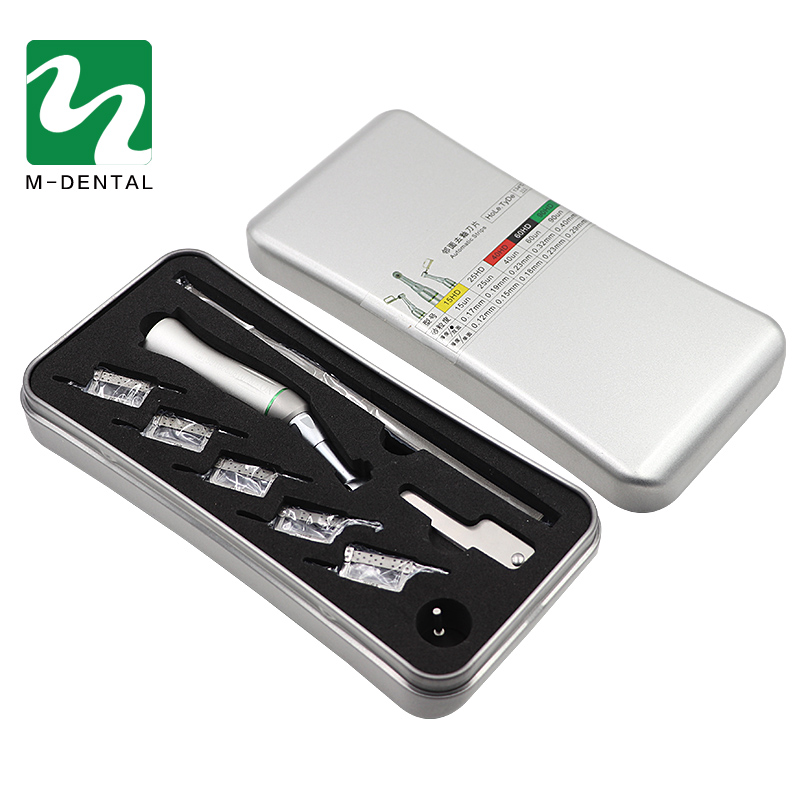 Dental Orthodontic Reciprocating IPR System Kit Automatic Strips Contra Angle With Manual Handle For Dental Orthodontic Treatm