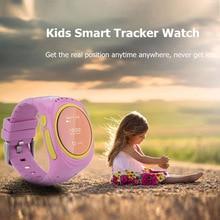 HOT!เด็กgps watchติดตามการสื่อสารสองทางป้องกันการสูญหายlocator sos smart watchนาฬิกาปลุกนาฬิกาโทรศัพท์anroidและios