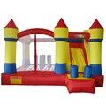 Yard mejor calidad castillo hinchable castillo inflable con tobogán juguetes inflables para niños, saltar los juguetes inflables carrera de obstáculos