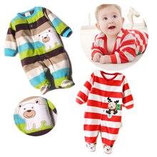 2017 mamelucos bebé recién nacido ropa de bebé de manga larga Animal lindo niño  ropa Conjunto af6f4cd4d424