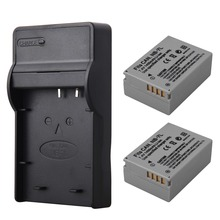 2pcs 1400mah NB-7L NB7L NB 7L Camera Battery + USB Charger For Canon PowerShot G10 G11 G12 SX30IS Battery NB-7L NB7L NB 7L