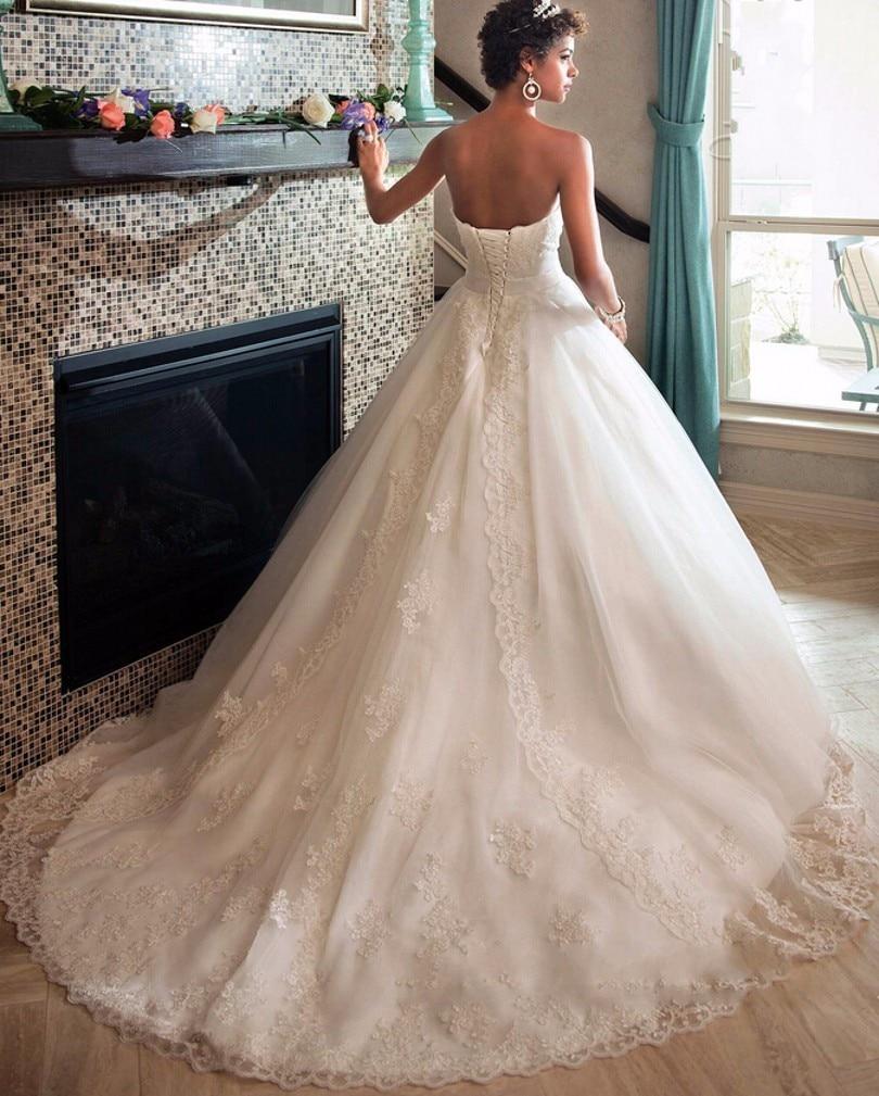 Abito Da Sposa Plus size Wedding Dress Wedding Gown Robe de bal Lace ...