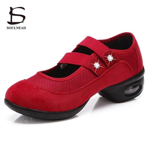Zapatillas de mujer zapatos de baile de Jazz Hip Hop doble zapatos cinturón Salsa  plataforma de cb322e956c7