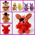 2016 New 25cm Kawaii Five Nights At Freddy's 4 FNAF Foxy Freddy Fazbear Doll Plush Toys Soft Stuffed Baby Toys Christmas Gift