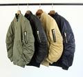 2017 New BLACKICON Fashion Ma1 Bomber Flight jacket Coat Hip hop kanye west winter Men Casual ZIP jacket Black army green M-XL