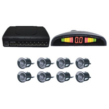 Car Parking sensor 8 sensors+ Buzzer Backup Radar Detector System Reverse Sound Alert CUAP08