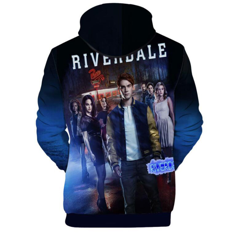 Southside Serpents Riverdale TV Show Kapuzenpullover Programme Jumper Sweats Neu