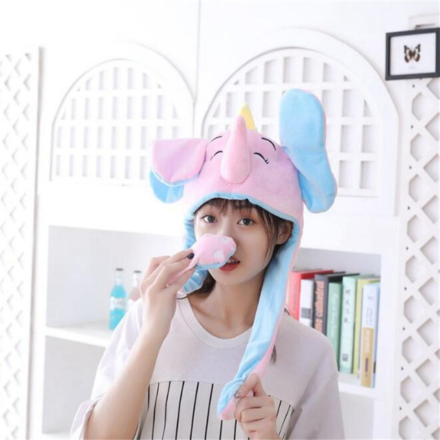 Плюшевая шапка Слон  4