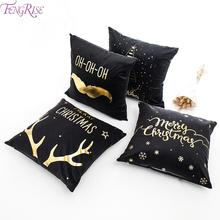 Merry Christmas Decoration For Home Deer Santa Claus Pillow Case 2019 Christmas Ornaments Gift Xmas Navidad Happy New Year 2020 цены