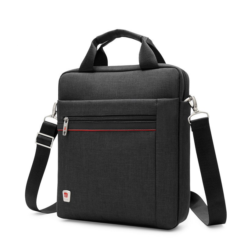 Men's Computer Briefcase Men Handbag Casual Single Shoulder Bag 12 Inch Women Crossbody Small Laptop Bag For Ipad Mini Tablet PC
