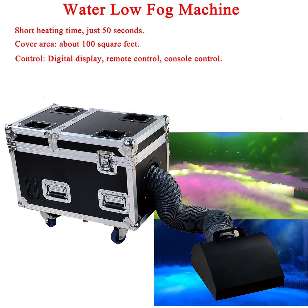 High Power Dj Equipment 3000W Water Base Fog Machine Dry Ice Effect Stage Low Ground Fog