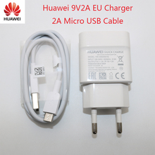 Originele Huawei honor8 9 Charger 9V2A Lading Power Adapter & Micro Usb Kabel Voor Mate 7 8 s/P7 /P8 Lite 2017/P9 Lite/P10/P20 Lite(China)