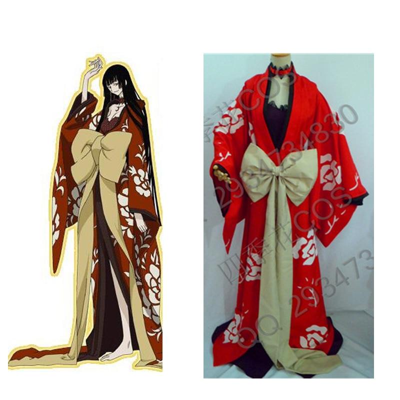 2016 xxxHolic Yuuko Ichihara kimono Cosplay Costume