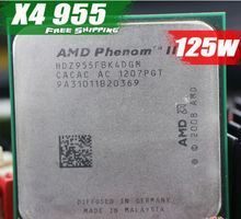 Free Shipping AMD Phenom II X4 955 Desktop CPU Processor 3.2GHz 6MB Socket AM2+/AM3/125w 938Pin Quad-CORE scrattered pieces