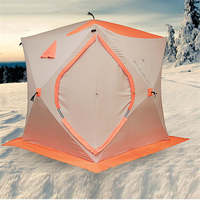 Outdoor Fishing 3 or 4 People Ice Thickening Warm Wild Winter Shelter Tent