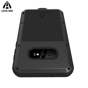 Image 5 - Liefde Mei Brand Case Voor Samsung Galaxy S10 Plus S10E Metal Shockproof Telefoon Cover Voor Samsung Galaxy S10 5G anti Val Armor Case