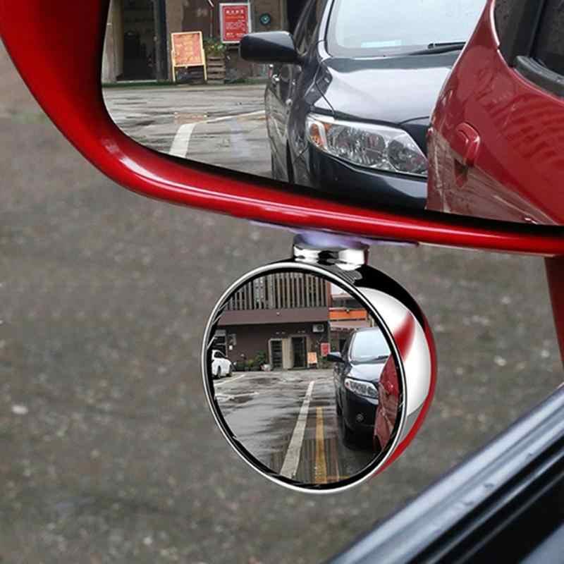 espejos de punto ciego de estacionamiento auxiliar retrovisor autom/ático Espejo retrovisor gran angular de coche OIUY con rotaci/ón de 360 grados