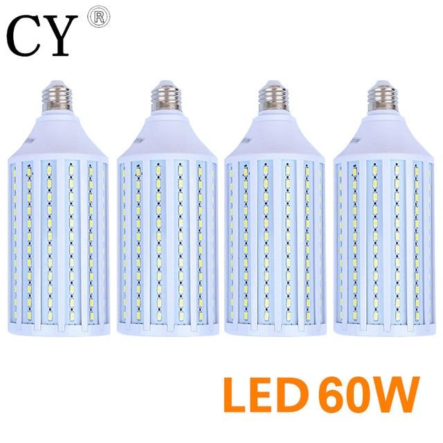 LightupFoto 4pcs 60W E27 220v Photo Studio Bulb 5730 SMD LED Video Light Corn Lamp Bulb & Tubes Photographic Lighting