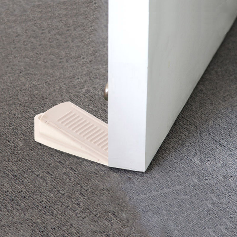 2019 2pcs/lot Rubber Door Stop Stoppers Safety Keeps Doors From Slamming Prevent Finger Injuries 10-002