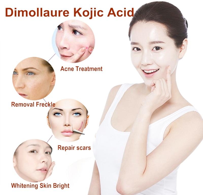 Dimollaure 50g puro 99% ácido kójico cuidado de la cara para - Cuidado de la piel - foto 3