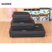 GUANHE 2.5 3.5 inch Shockproof Waterproof Portable Storage Carry power bank Case hard drive Bag for GoPro HD Hero 3+ 2 4 1