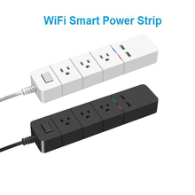 купить US Smart 2 USB 1.8M Extension Cord Plug Wifi Remote Control Timer Switch Wireless Plug Smart Home Patch Panel US Standard Socket по цене 1622.89 рублей
