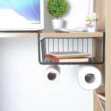 2018 железо шкаф подвесные корзины Гардероб Полка молния шкаф для хранения держатель Ванная комната Кухня Организатор аксессуары