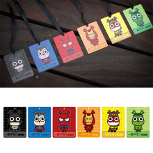 Good Smell Car Perfume Card Car-styling Decoration Solid Outlet Air Freshener Card Super Hero Bookmarks Deodorant