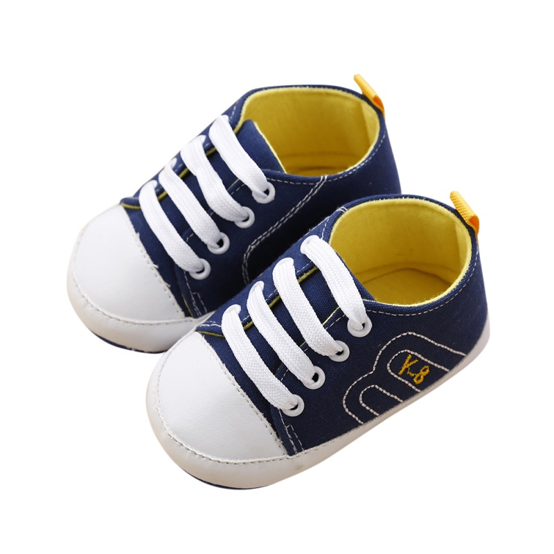 Baby Shoes Newborn Girl Boy Soft Sole Crib Toddler Shoes Canvas Sneaker Sports Shoes Casual 0-18 M