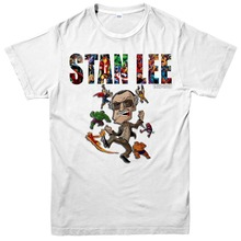 1922-2018 RIP Stan Lee T-Shirt Avengers Comic Unisex Adult Tee Top Cotton Casual  shirts