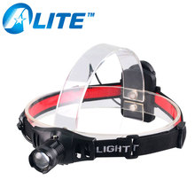[FREE SHIP] Lightweight Powerful 3W XP-E Q5 LED 300 lumens head lamp Torch Flashlight Zoom headlamp for Running