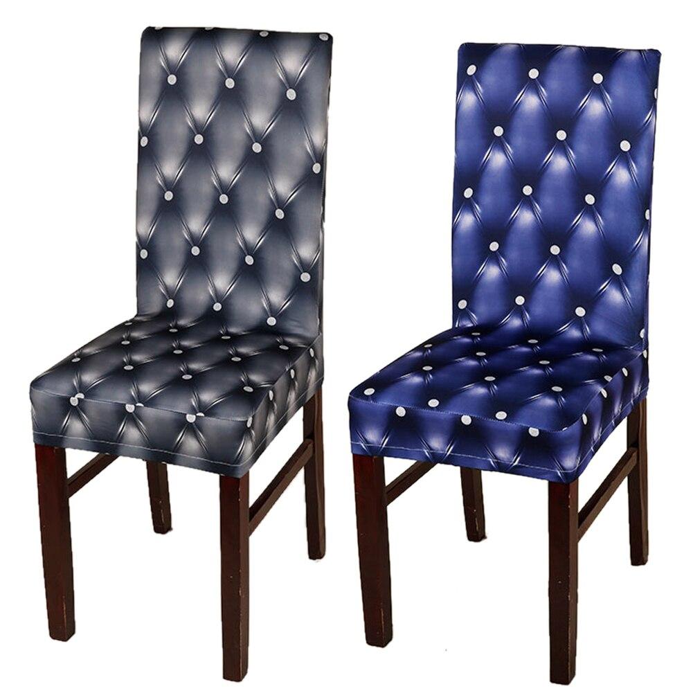 unids colores slidos de polister spandex fundas para sillas de oficina del hotel del banquete