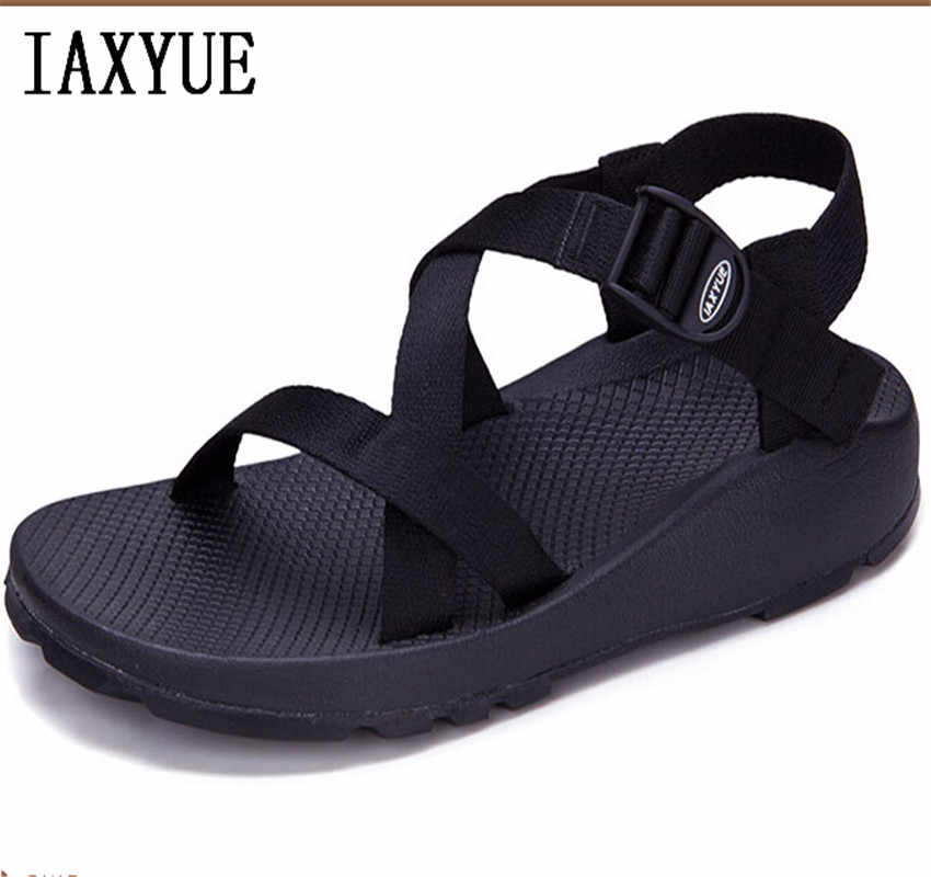a8a21b3f722b41 IAXYUE Summer new men s sandals Korean version of the trend of the Roman  male sandal Vietnam