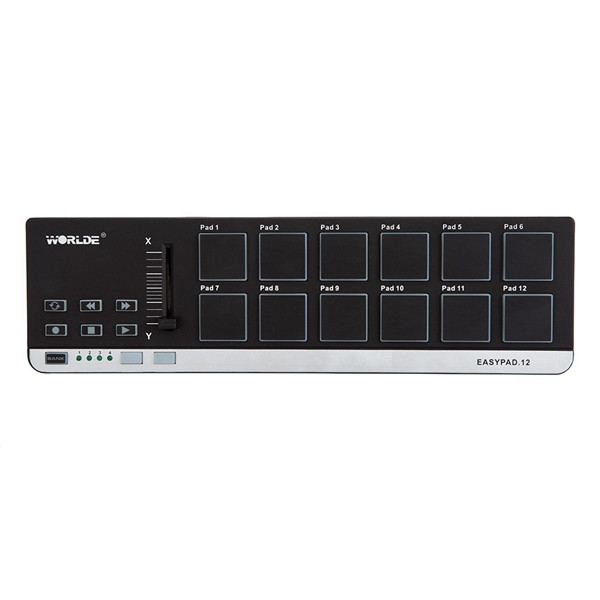 buy worlde easypad 12 portable mini usb 12 drum pad midi controller from. Black Bedroom Furniture Sets. Home Design Ideas