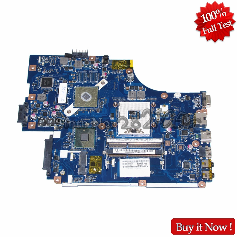 NOKOTION LA-5891P laptop motherboard for acer aspire 5742 MBR5402001 MB.R5402.001 HM55 HD5470M DDR3 nokotion laptop motherboard for acer 5742 nv55c la 6582p intel hm55 integrated gma hd ddr3 mainboard