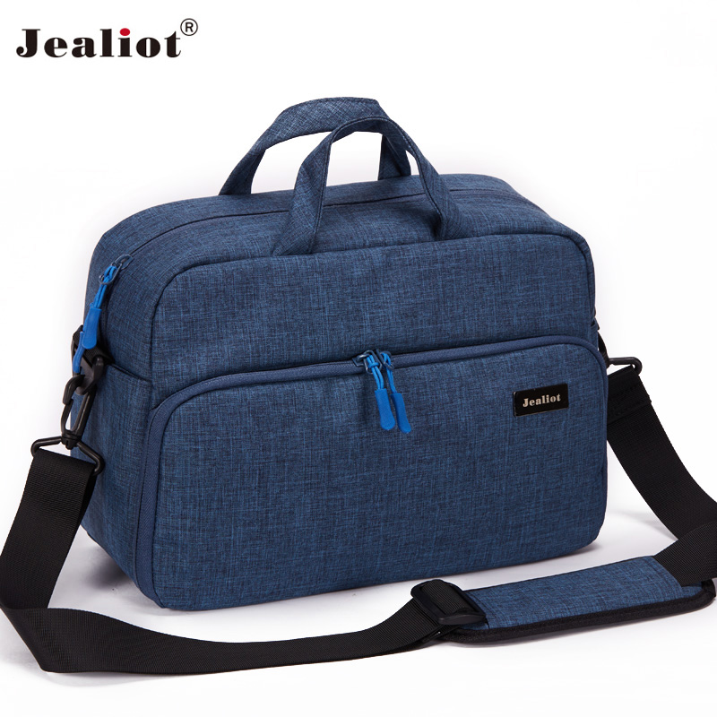 2017 Jealiot Camera Bag font b digital b font camera Women men shoulder Travel bags waterproof