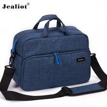 Buy online 2017 Jealiot Camera Bag digital camera Women men shoulder Travel bags waterproof Video Photo case for Canon DSLR free shipping