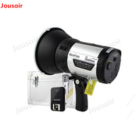 NICEFOTO nflash300 300Ws Wireless Studio Flash with Built in Wireless Hi speed Flash Light for Outdoor Flash CD50