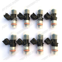 High Flow Performance 650cc Fit 2006 2013 Chevrolet Corvette 6 2L 7 0L Fuel Injectors Matched