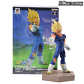 Anime Dragon Ball Kai DXF Vegeta Acción PVC Figuras de Colección Modelo Juguetes 12 cm
