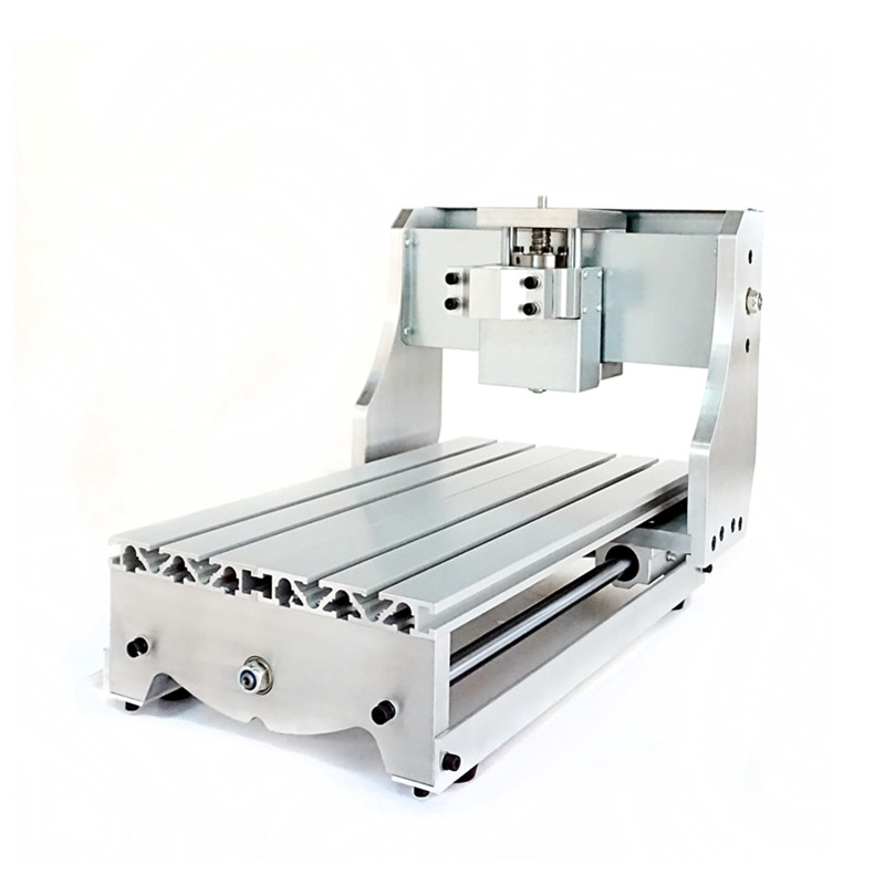Mini CNC frame 3020 with ball screw for diy cnc engravering machine cnc frame kit cnc 3020z diy frame with ball screw optical axis and bearings for cnc milling machine